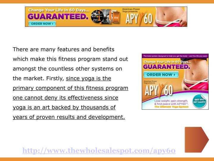 There are many features and benefits which make this fitness program stand out amongst the countless...