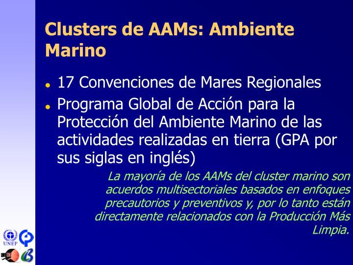 Clusters de AAM