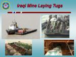 iraqi mine laying tugs
