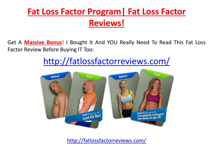 fat loss factor program fat loss factor reviews n.