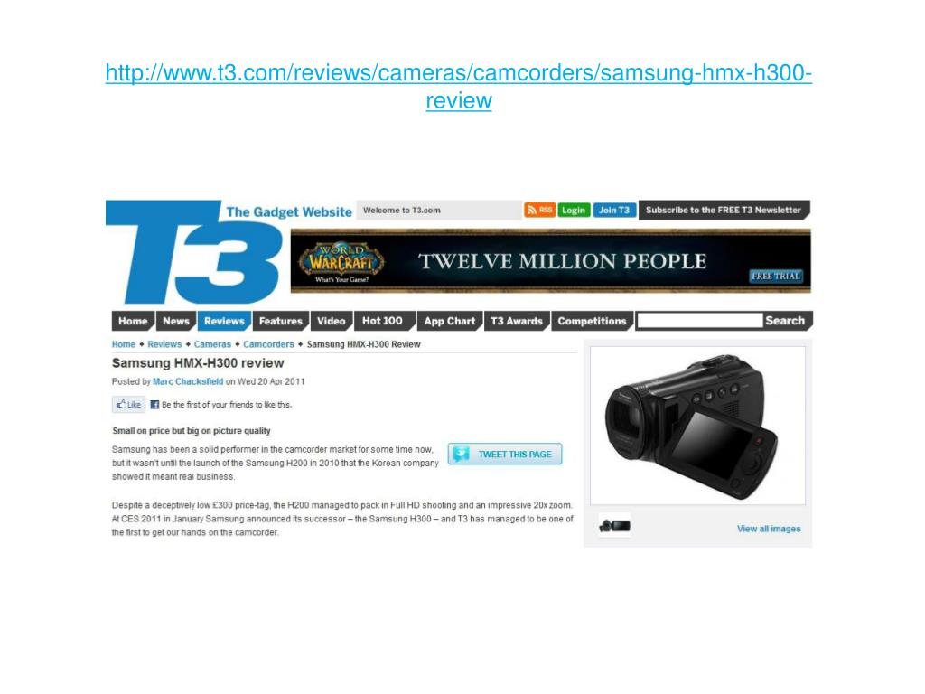 http www t3 com reviews cameras camcorders samsung hmx h300 review l.