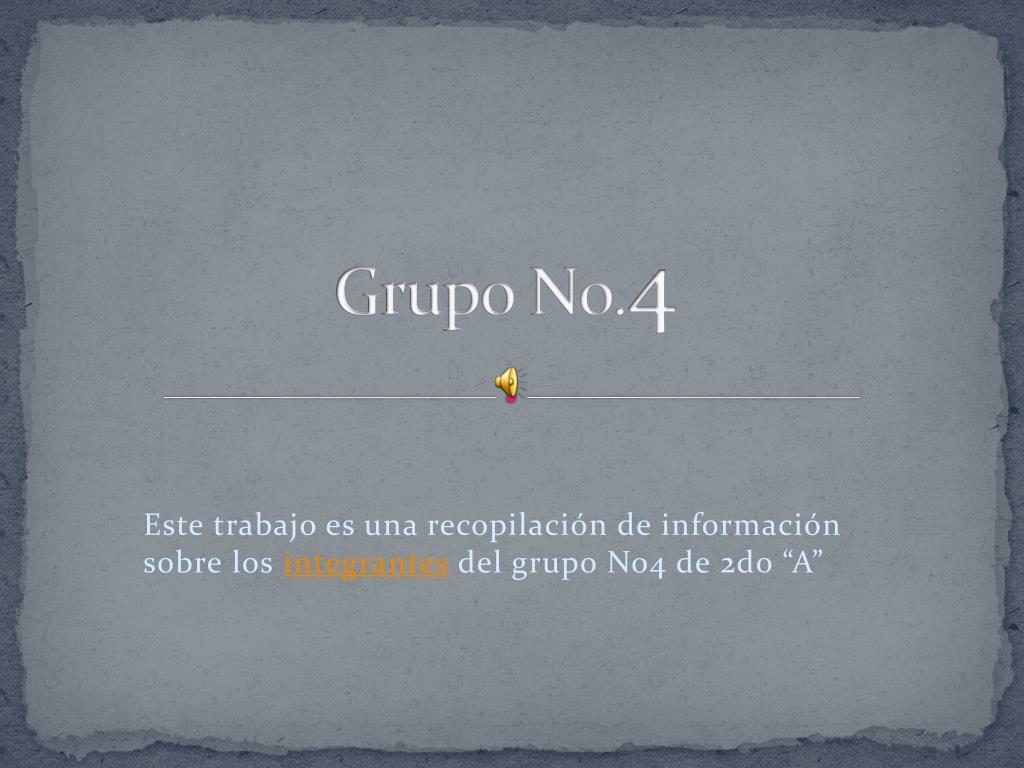 Grupo No.