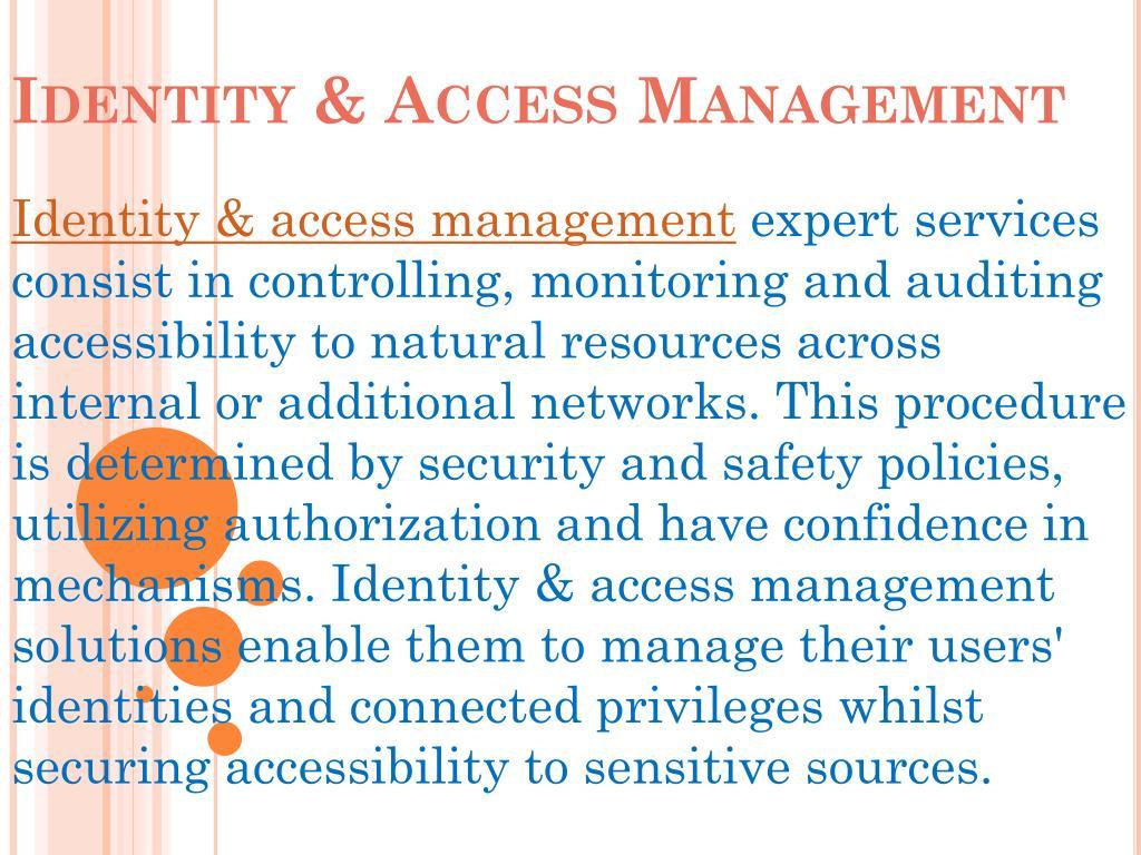 identity access management l.
