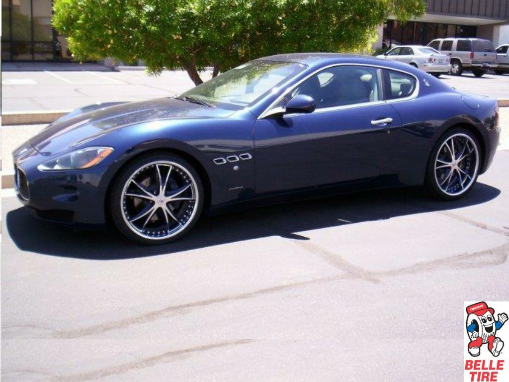 2009 Maserati Gran Turismo MHT Vortex Black