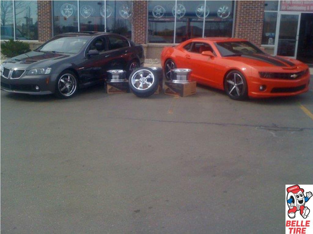 Custom Rims on 2010 Chevy Camaro and a 2010 Pontiac G8