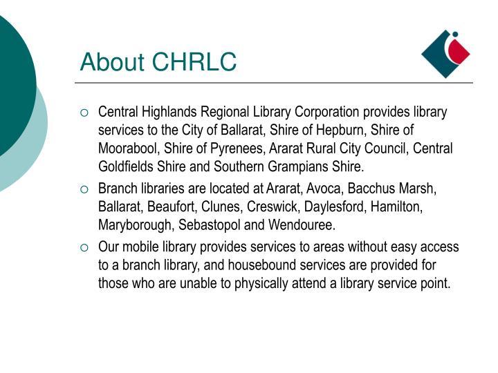 About chrlc