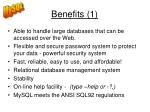 benefits 1