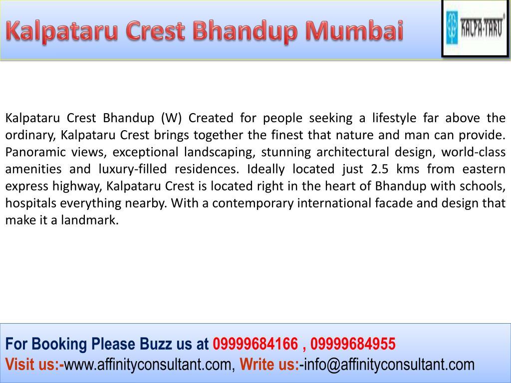 Kalpataru Crest Bhandup Mumbai