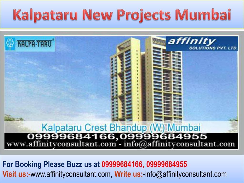 Kalpataru New Projects Mumbai