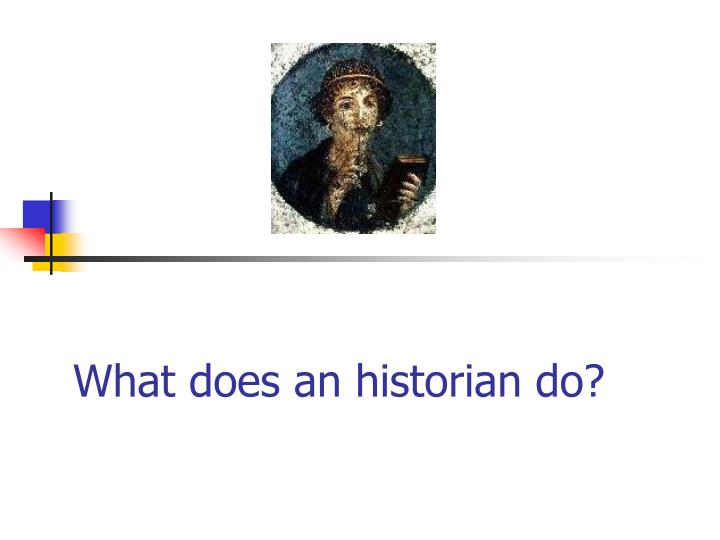 what does an historian do n.
