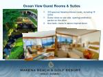 ocean view guest rooms suites