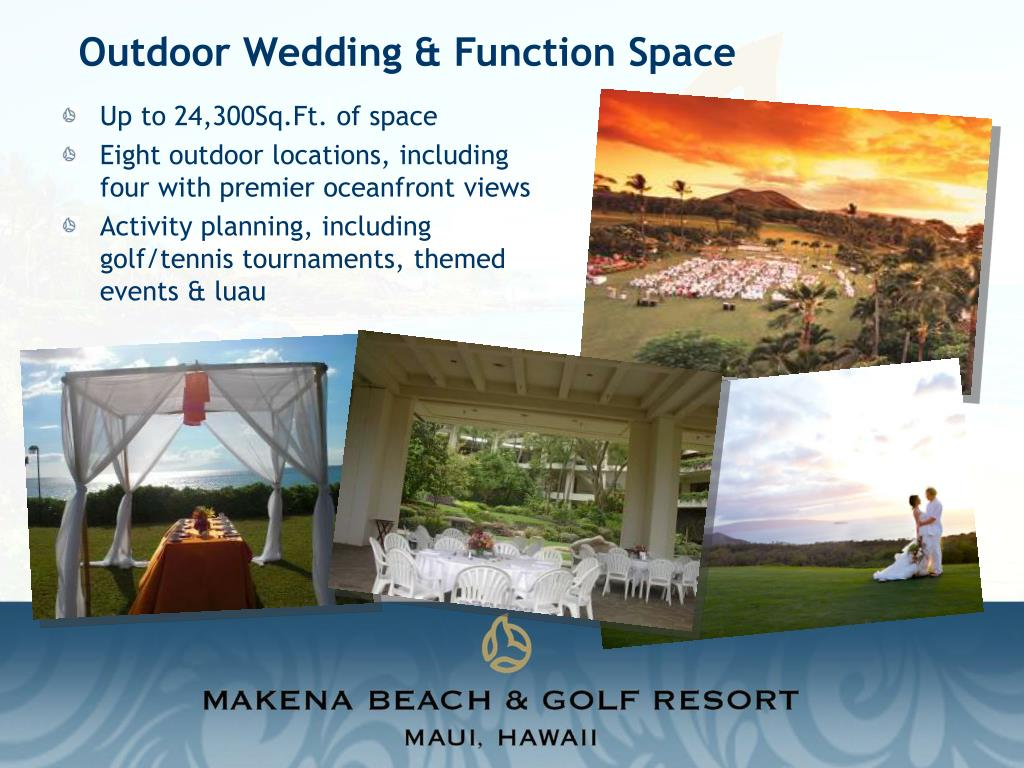 Outdoor Wedding & Function Space