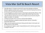 vista mar golf beach resort4