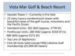 vista mar golf beach resort7