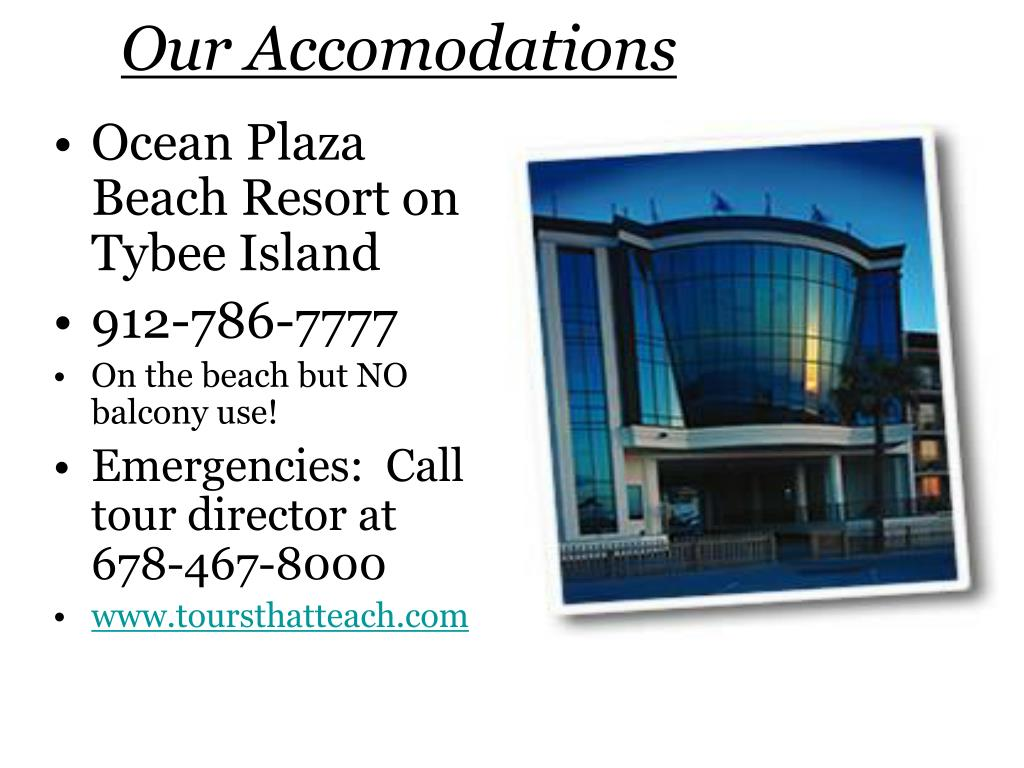 Ocean Plaza Beach Resort on Tybee Island