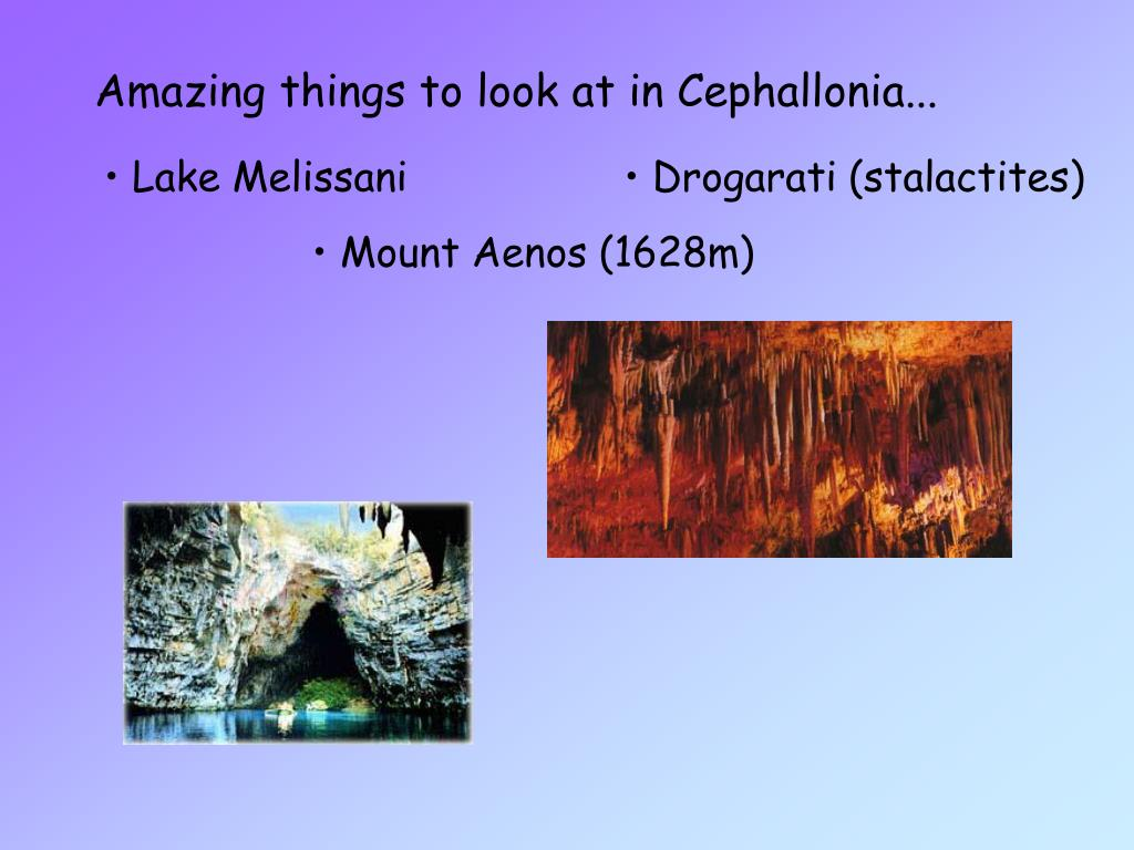 Amazing things to look at in Cephallonia...