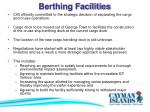 berthing facilities