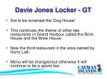 davie jones locker gt