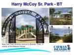 harry mccoy sr park bt