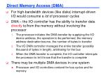 direct memory access dma