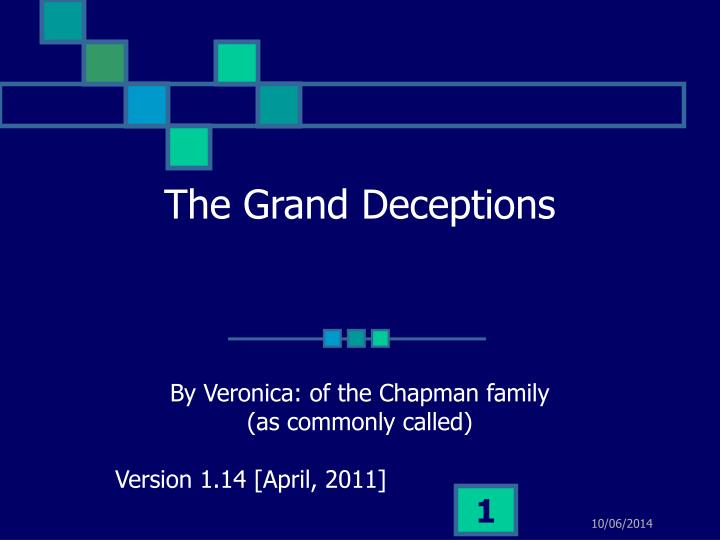 the grand deceptions n.