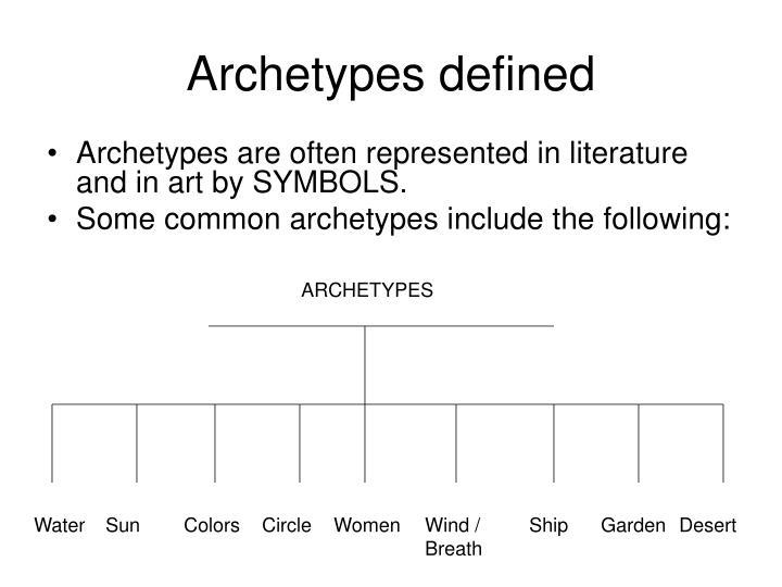 Ppt Archetypes Powerpoint Presentation Id1216587