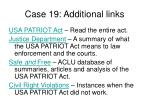 case 19 additional links