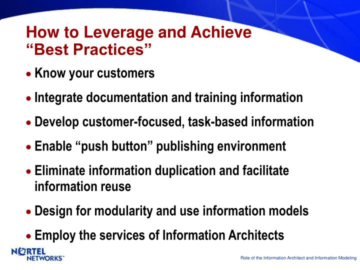 How to Leverage and Achieve