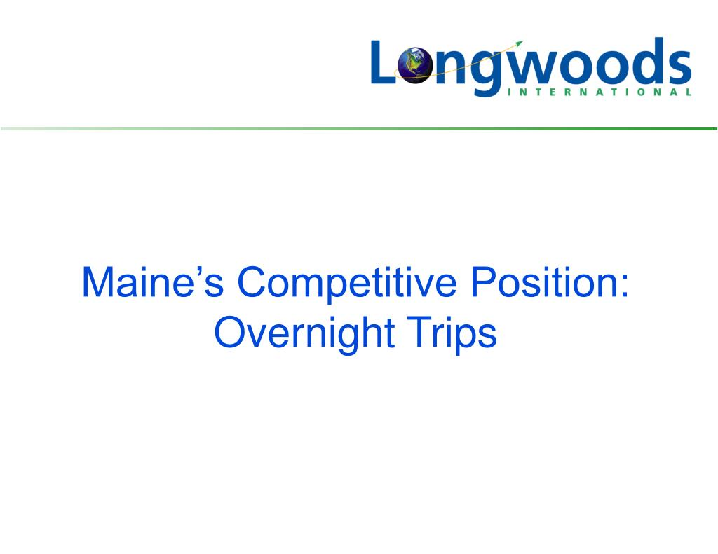 Maine's Competitive Position: