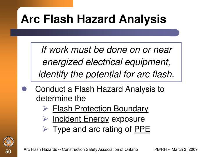 48544e016936 ... Construction Safety Association of Ontario. arc flash hazard analysis. Arc  Flash Hazard Analysis