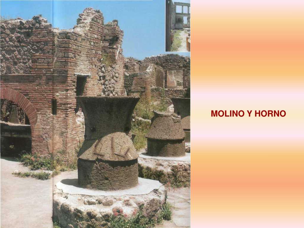 MOLINO Y HORNO