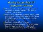 meeting the post sept 11 th propaganda challenge