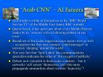 the arab cnn al jazeera tv