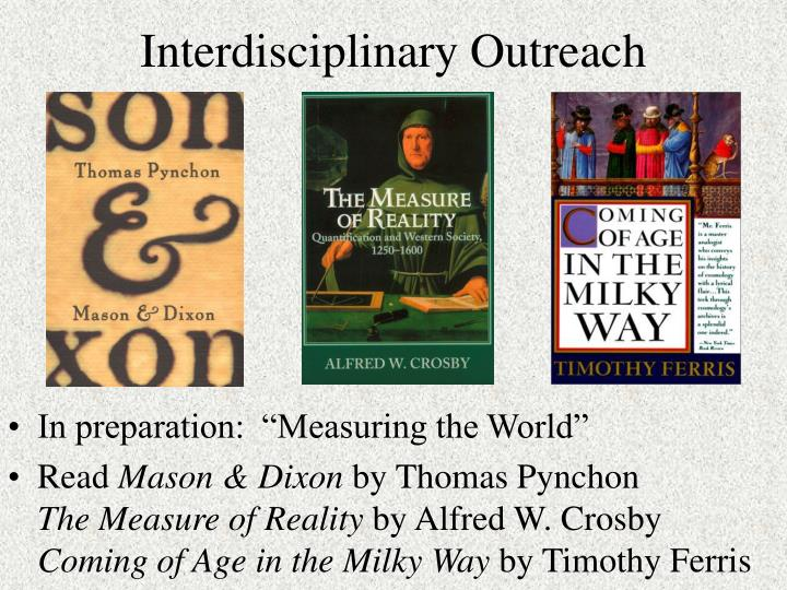 Interdisciplinary Outreach