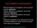 the firemen uncensored