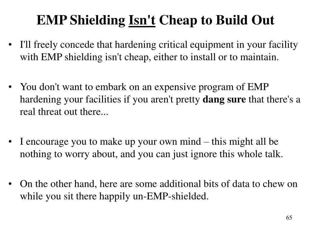 EMP Shielding