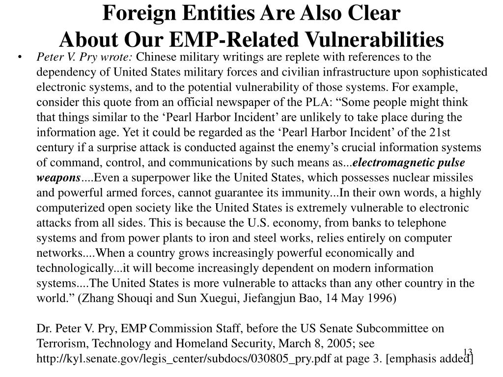 Foreign Entities Are Also Clear
