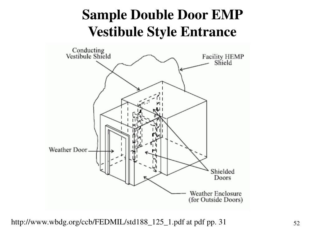 Sample Double Door EMP