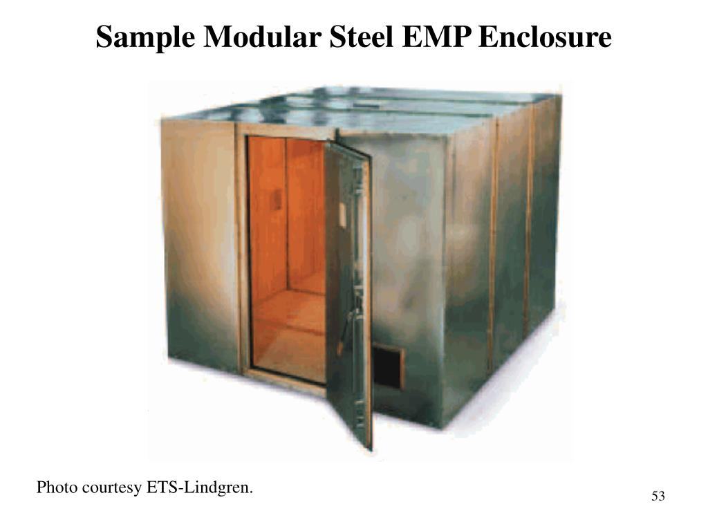 Sample Modular Steel EMP Enclosure