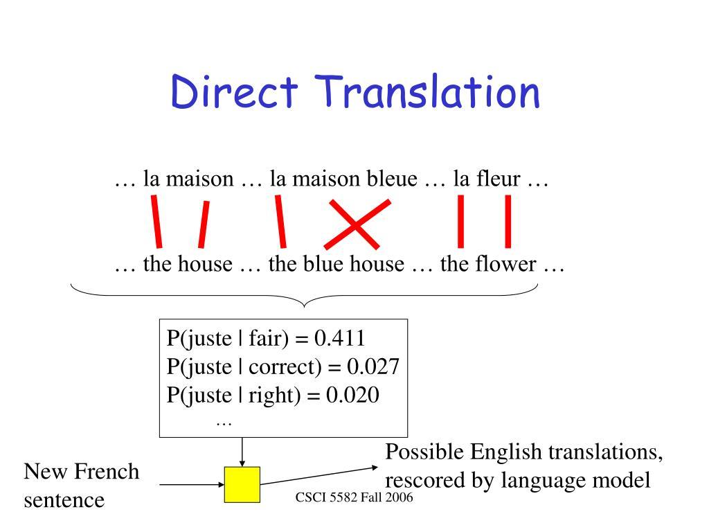 Direct Translation