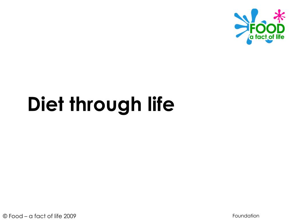 diet through life l.