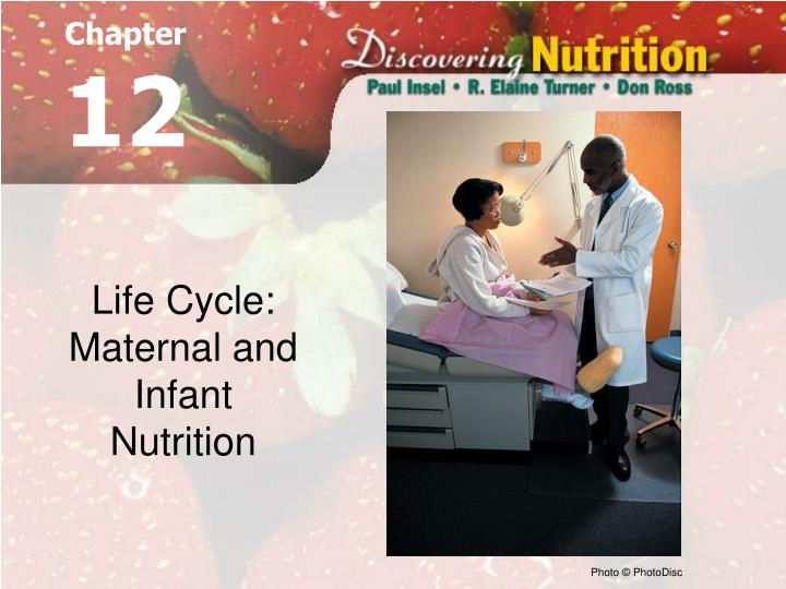 Life cycle maternal and infant nutrition