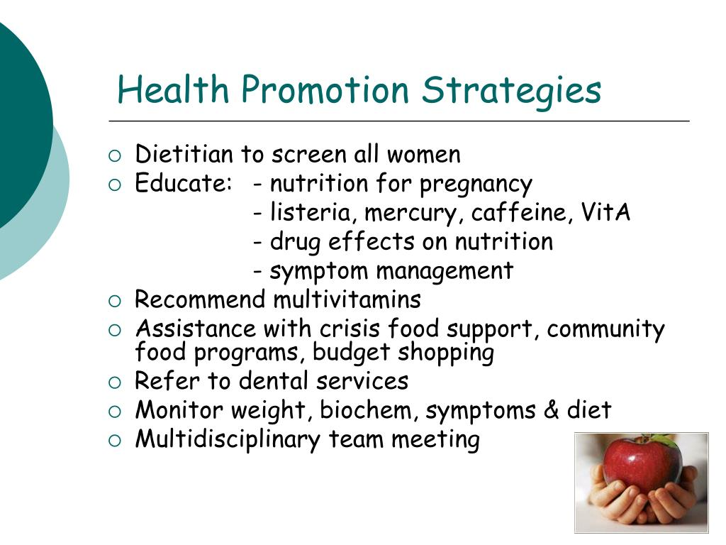 Health Promotion Strategies