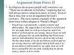 argument from force ii2