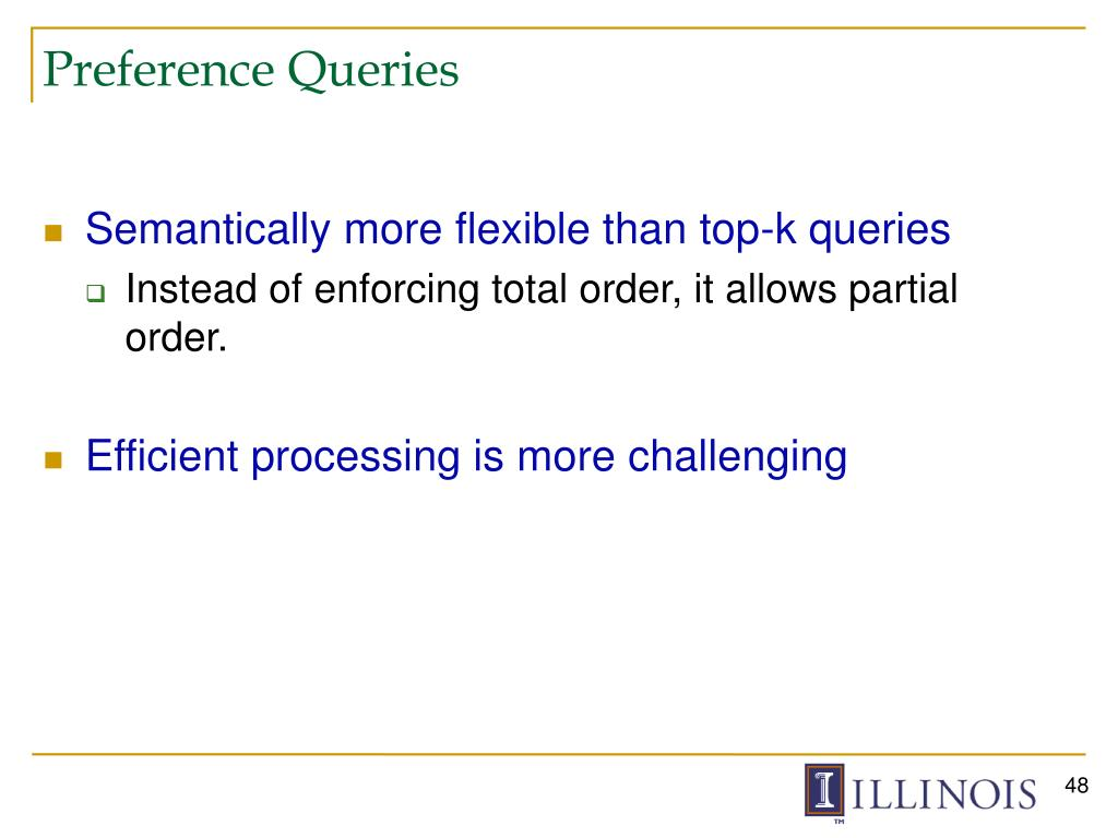 Preference Queries