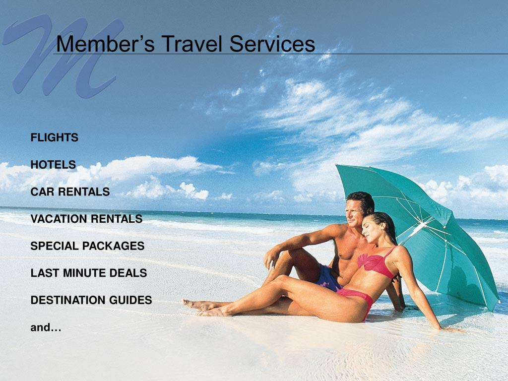 Member's Travel Services