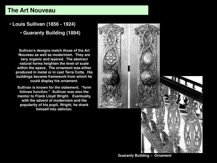 The Art Nouveau