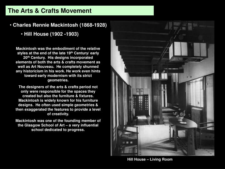 The Arts & Crafts Movement
