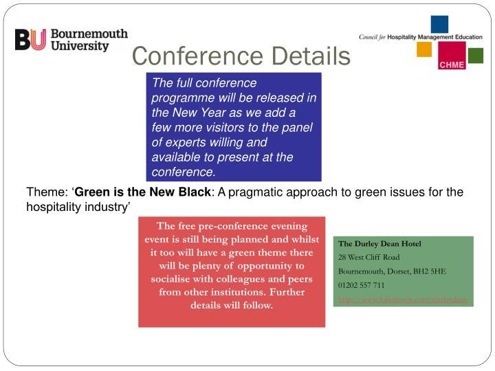 Conference details3