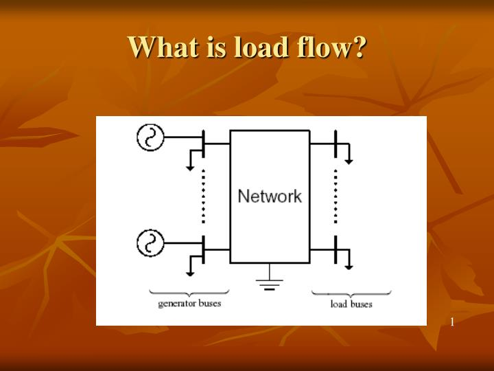 load flow solution of unbalanced radial Flow in large 3 -phase unbalanced systems which exploits the radial topological load-flow solution is comparison between load flow analysis.